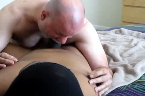 Flowing Nutt From A large-Dicked darksome