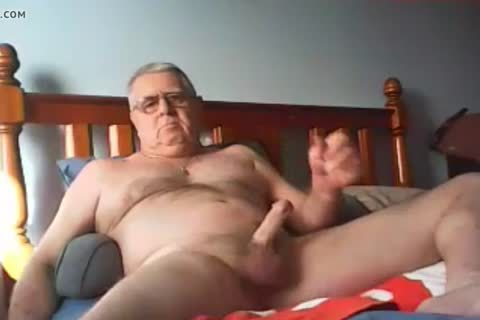 grand-dad cum On cam